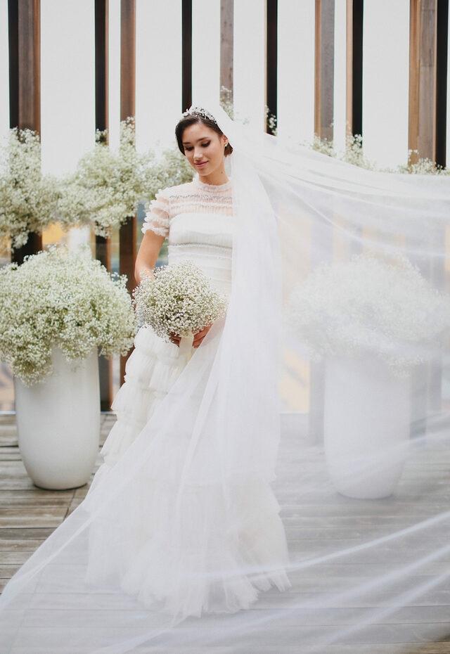 дина немцова свадьба фото