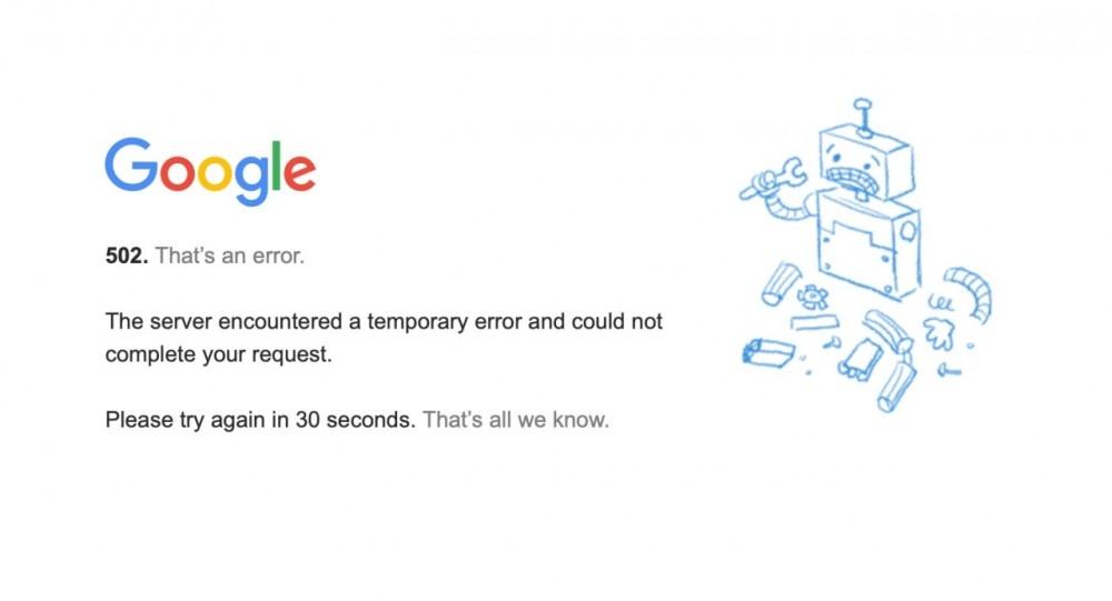 Масштабный сбой: Gmail, YouTube и другие сервисы Google перестали работать по всему миру - фото №2