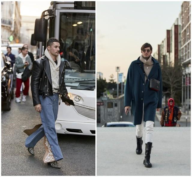 Что носят в Париже: стритстайл-образы гостей французской мужской Недели моды - фото №19