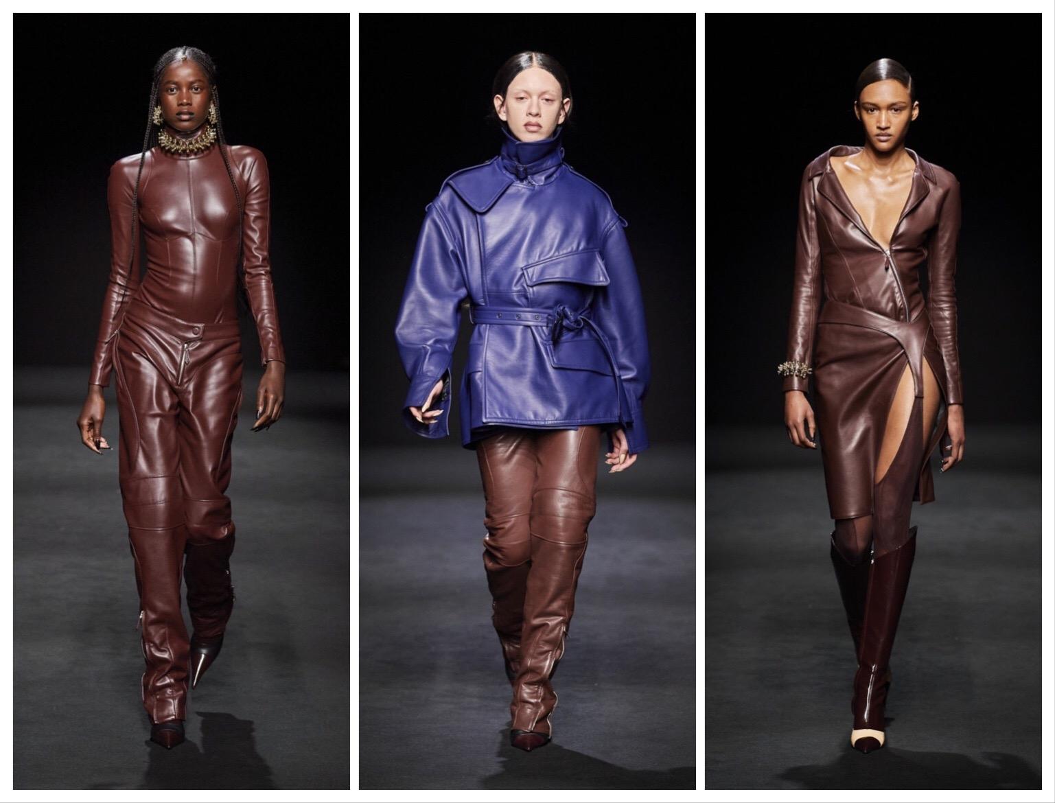 """""""Голые платья"""", сетка и цветная кожа – обзор новой коллекции Mugler - фото №2"""