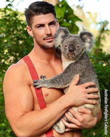календарь австралийских пожарных 2021