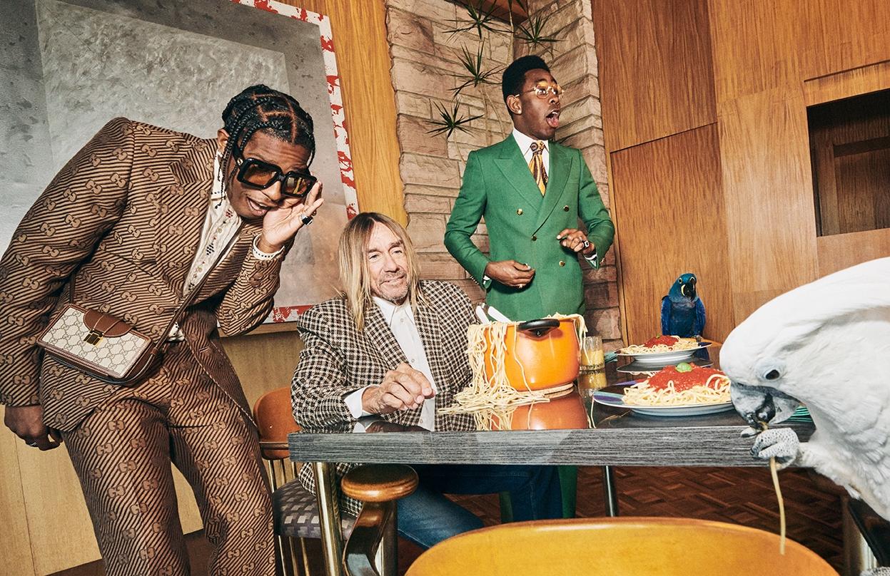 Мужская элегантность: Игги Поп, A$AP Rocky и Tyler, The Creator снялись в рекламной кампании Gucci (ФОТО+ВИДЕО) - фото №3