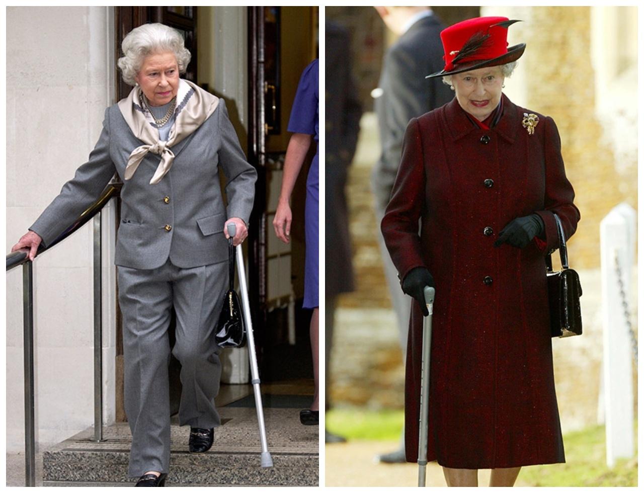 Королева Елизавета впервые появилась на публике с тростью (ФОТО) - фото №6