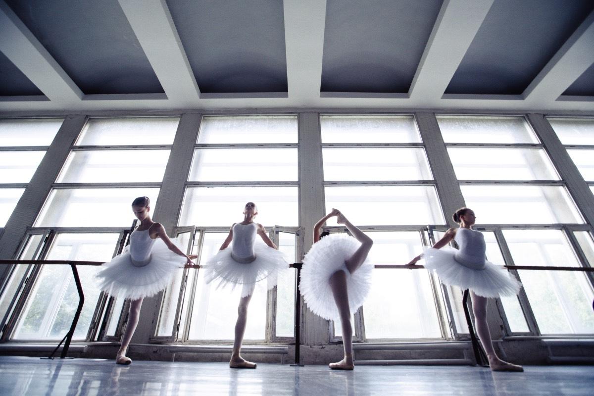 Ученицы Киевского государственного хореографический училища