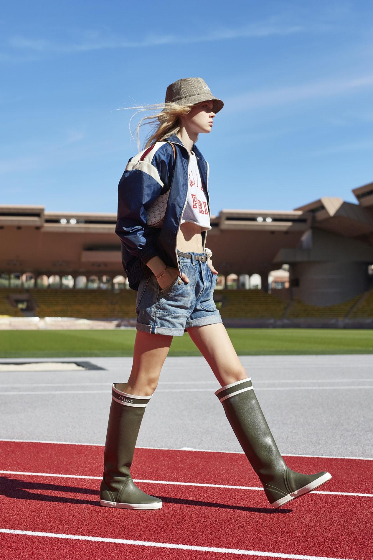 Французская романтика и спорт: Celine показали новую коллекцию весна-лето 2021 (ФОТО) - фото №5