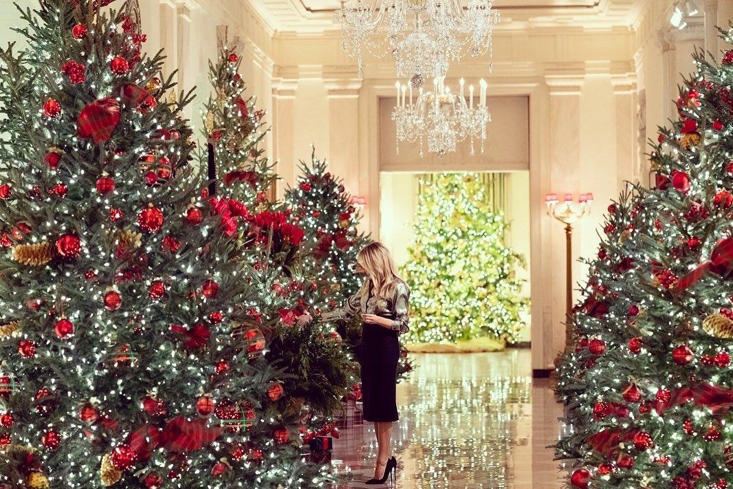 рождество в белом доме 2021