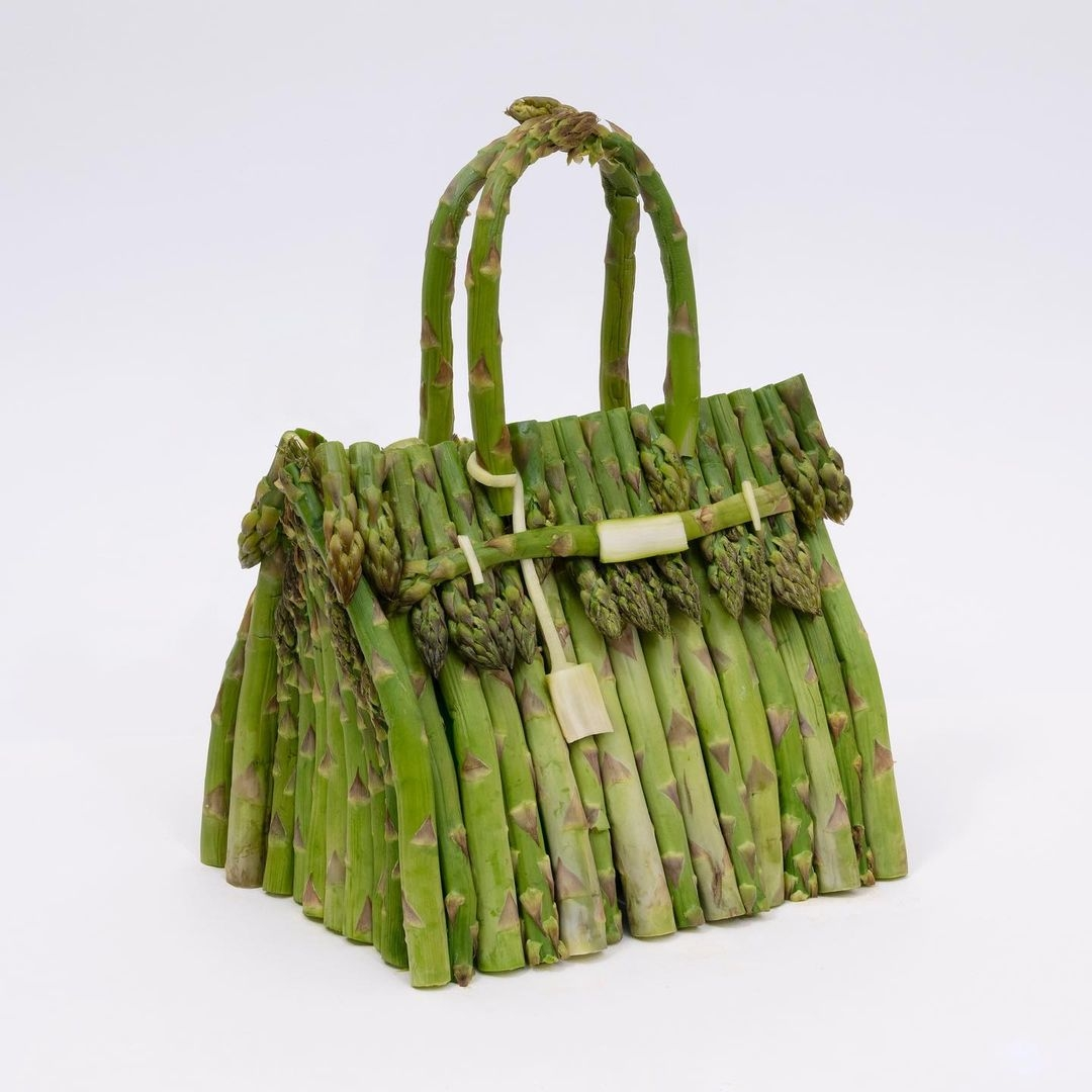 Hermès показали коллекцию съедобных сумок Birkin из овощей (ФОТО) - фото №1