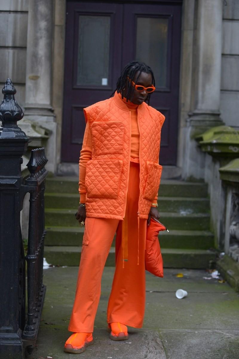 Мужская неделя моды в Лондоне: лучшие стритстайл-образы - фото №1
