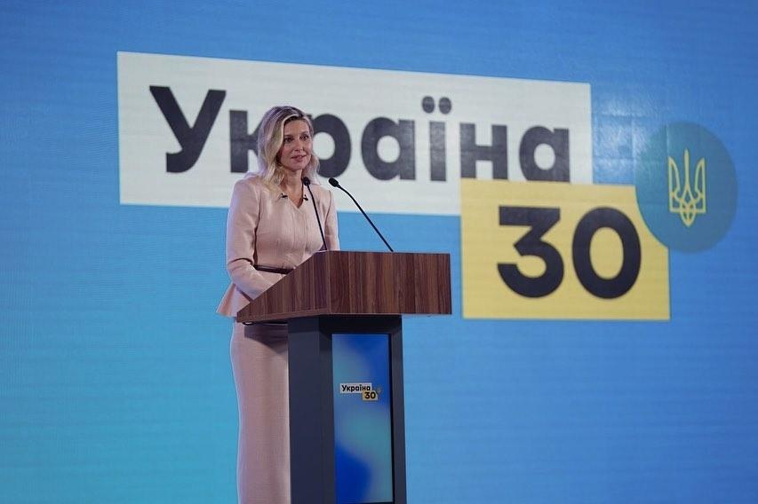 Сама нежность: первая леди Елена Зеленская показала женственный образ (ФОТО) - фото №1