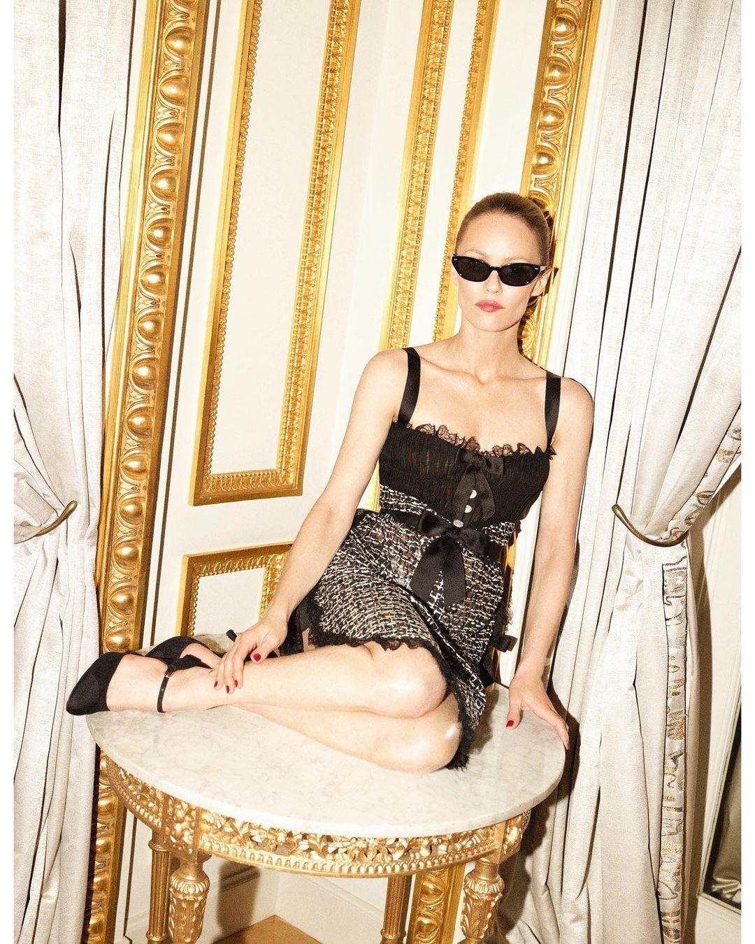 Ванесса Паради снялась в эффектной фотосессии для глянца (ФОТО) - фото №2