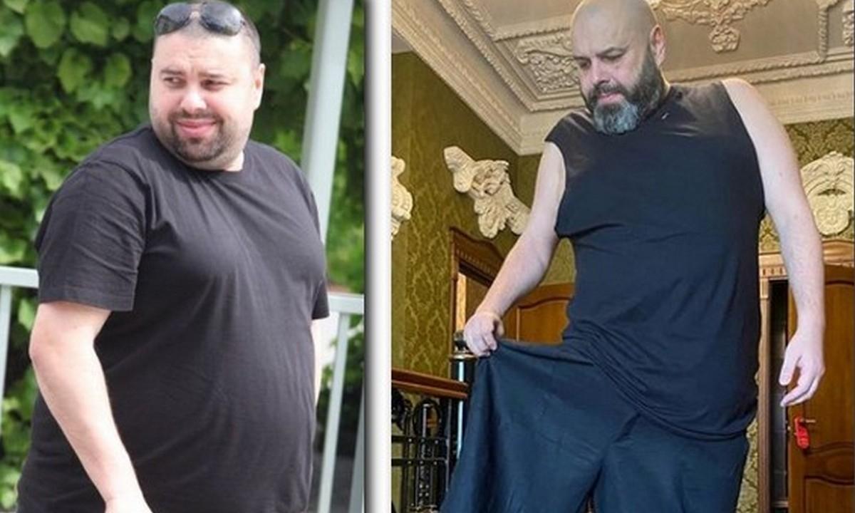 как похудел макс фадеев