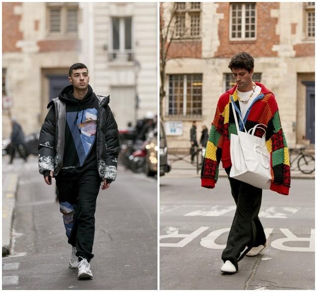 Что носят в Париже: стритстайл-образы гостей французской мужской Недели моды - фото №9