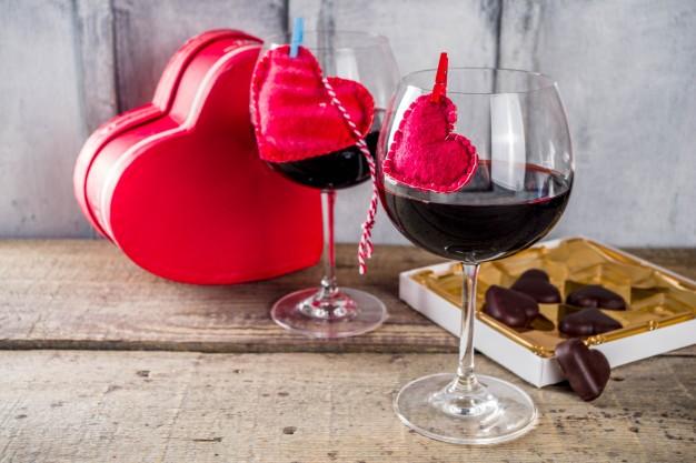 дегустация вина и шоколада