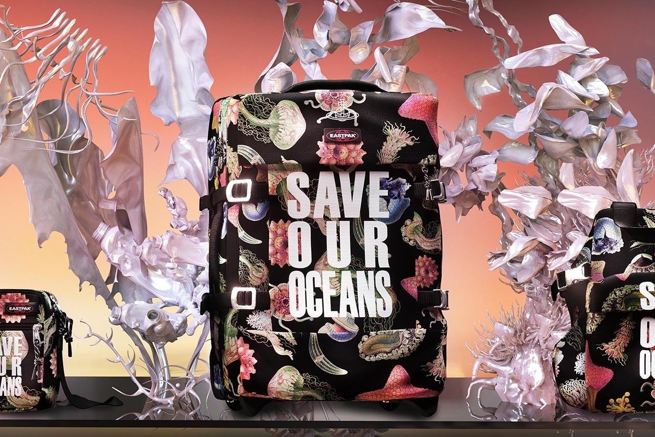 Vivienne Westwood и Eastpak создали коллекцию сумок из переработанного океанического пластика (ФОТО) - фото №1
