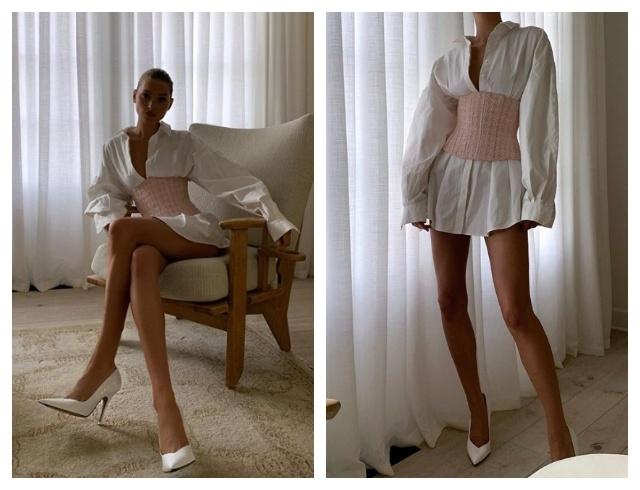 Уроки стиля: модель Эльза Хоск показывает самый стильный наряд этого сезона(ФОТО) - фото №1