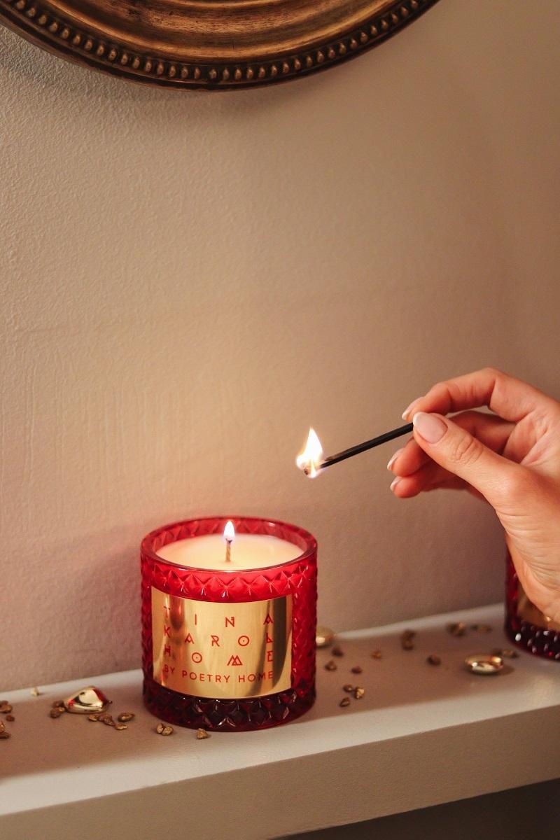 Тина Кароль выпустила ароматическую коллекцию для дома ко Дню всех влюбленных 9 - фото №1