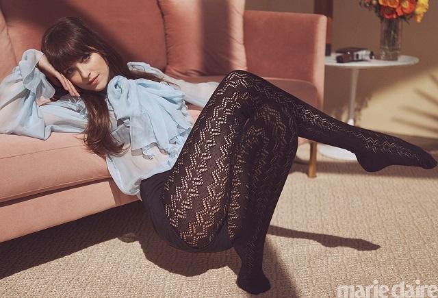 Роскошная Дакота Джонсон в новой фотосессии для Marie Claire (ФОТО) - фото №2