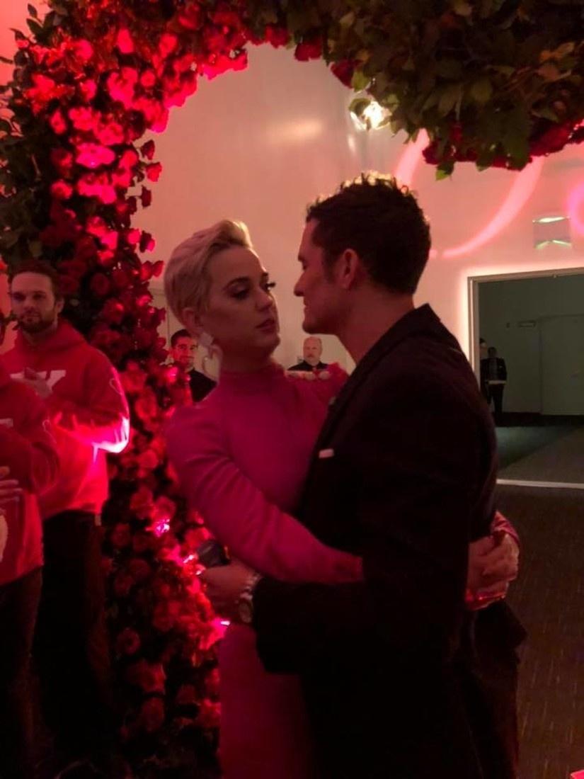 Свадьба Кэти Перри и Орландо Блума - фото №2