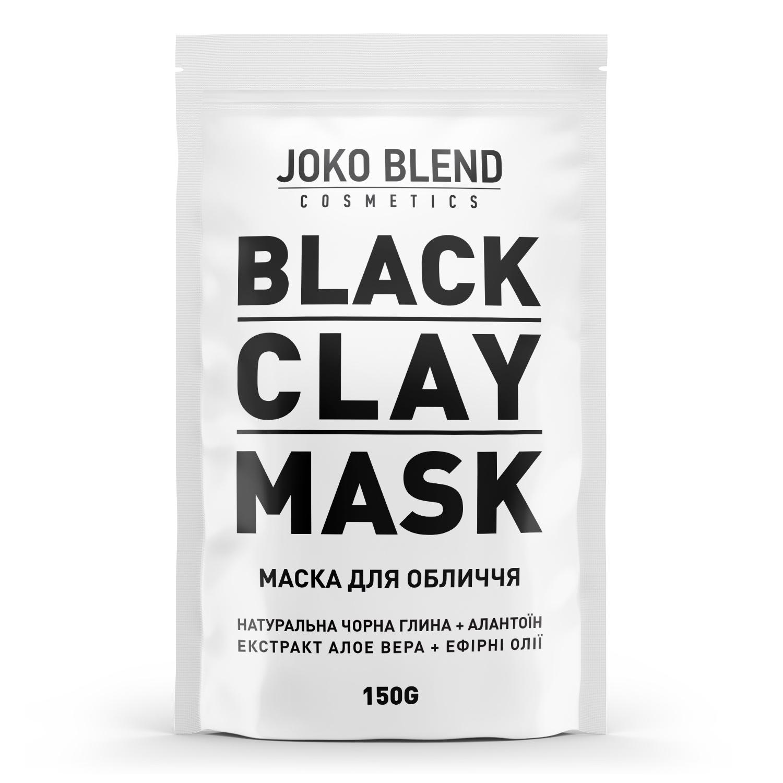 Черная глиняная маска для лица отJoko Blend
