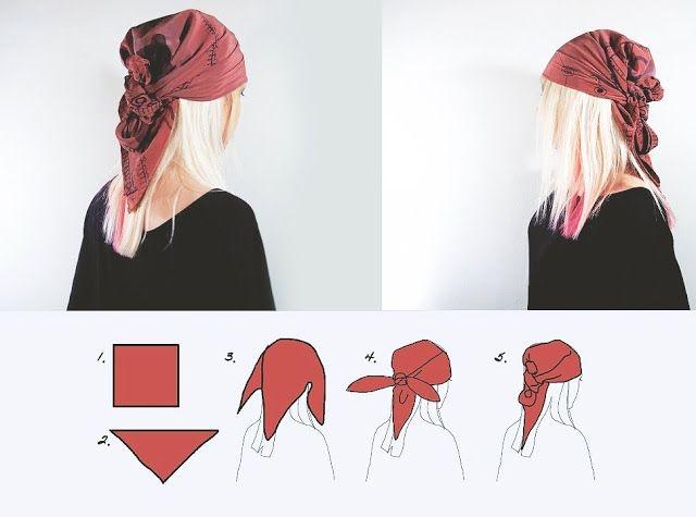 Как носить бандану на голове: ТОП-5 модных идей - фото №4