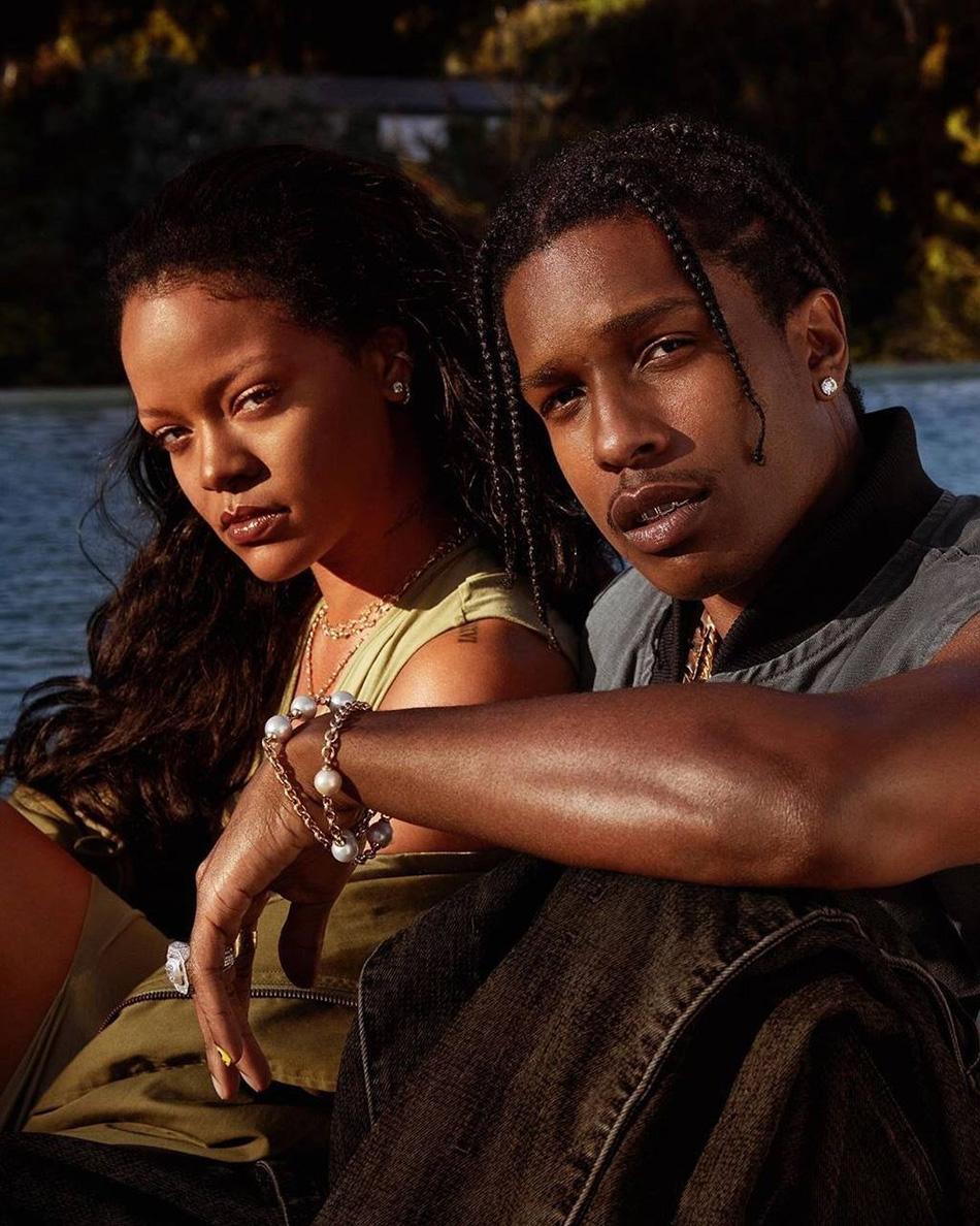 """""""Я по-настоящему счастлив"""": A$AP Rocky о романе с Рианной - фото №1"""