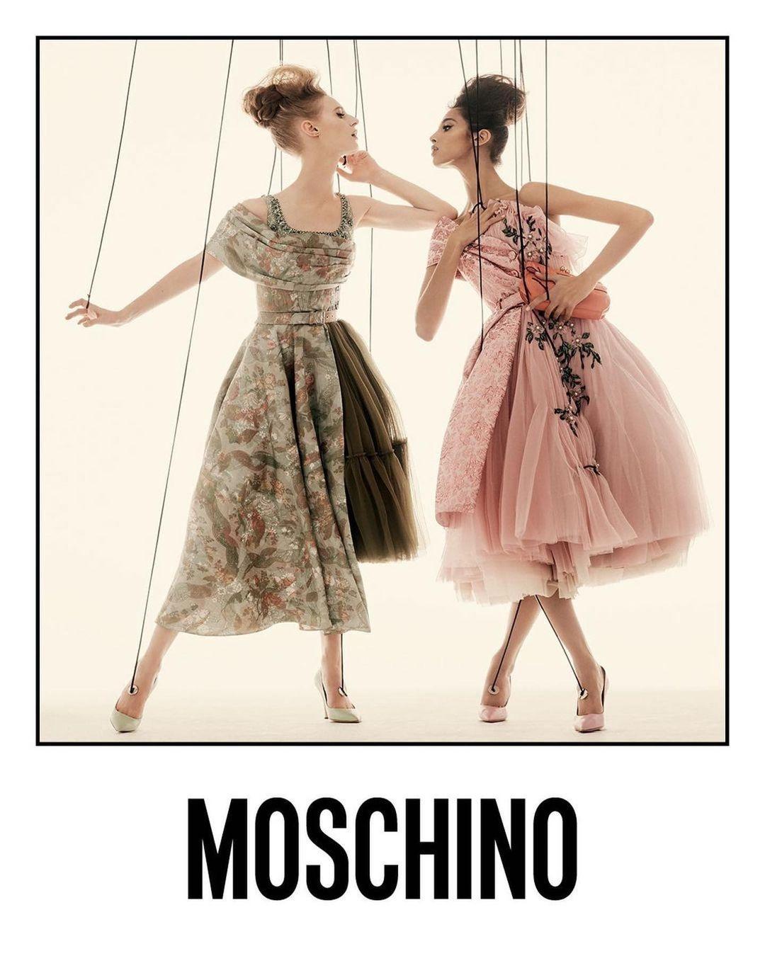 Ирина Шейк и Белла Хадид превратились в марионеток в новой рекламе Moschino (ФОТО) - фото №3