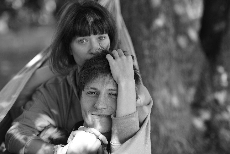 Анна Васильева и Эрик Абрамович
