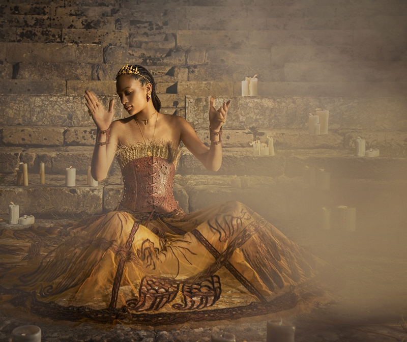 Мифы, музы и богини. Смотрите новую рекламную кампанию Christian Dior (ФОТО+ВИДЕО) - фото №3
