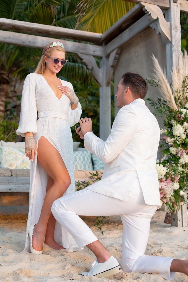 пэрис хилтон выходит замуж