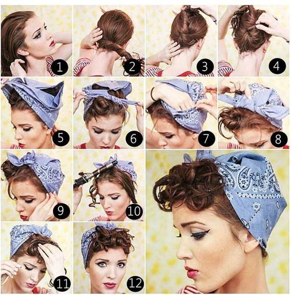 Как носить бандану на голове: ТОП-5 модных идей - фото №5
