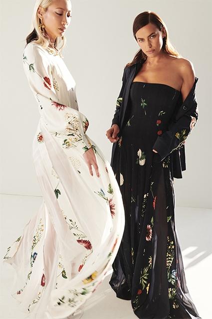 Роскошная красота: Ирина Шейк в рекламной кампании Oscar de la Renta Pre-Fall 2021 (ФОТО) - фото №4