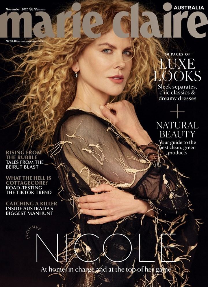 Николь Кидман фотосессия для австралийского журнала Marie Claire