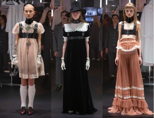 Что скрывается за замочной скважиной: ритуалы и готика в новой коллекции Gucci (ФОТО) - фото №7