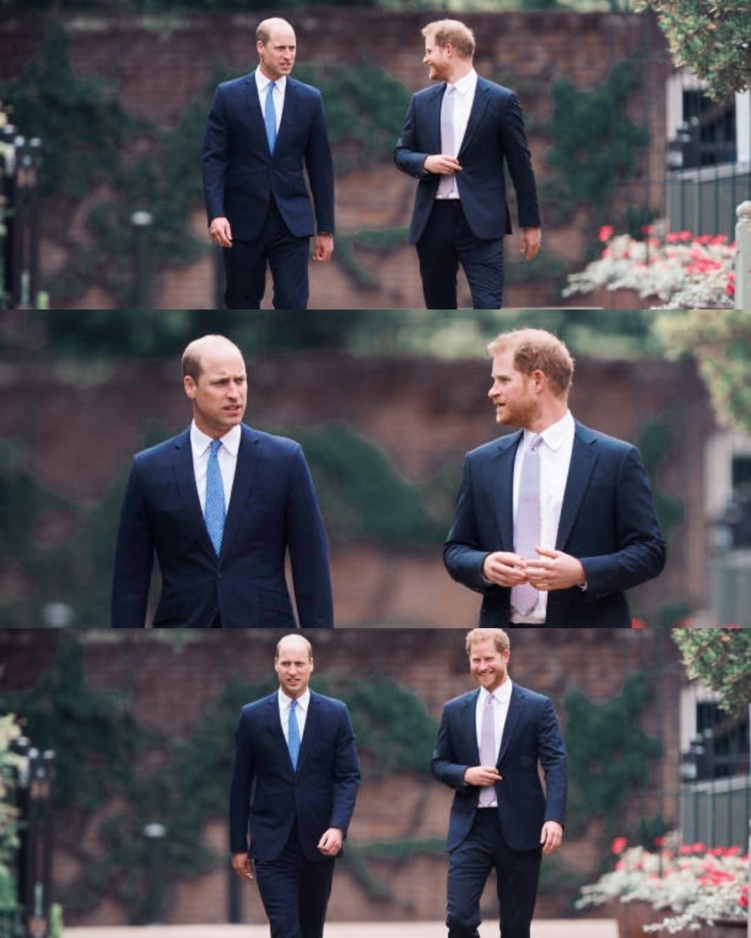 потепление в отношениях принцев гарри и уильяма