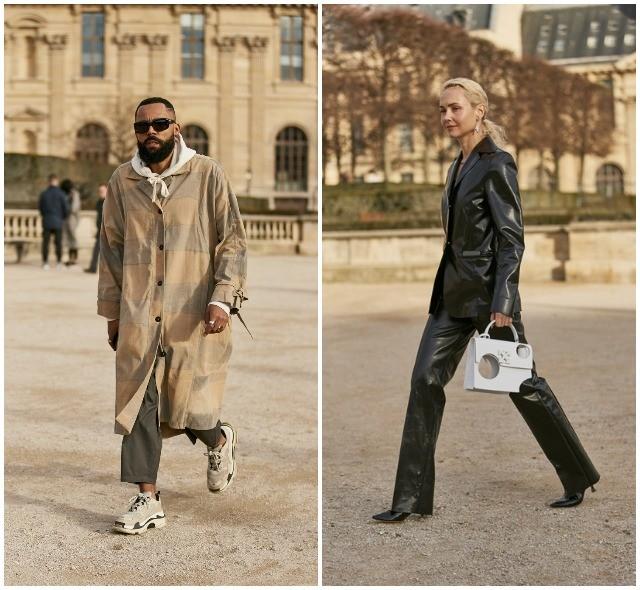 Что носят в Париже: стритстайл-образы гостей французской мужской Недели моды - фото №10