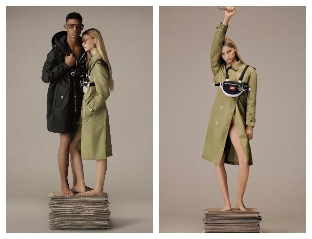 Новая коллекция Burberry, созданная из экологически чистых материалов (ФОТО) - фото №1