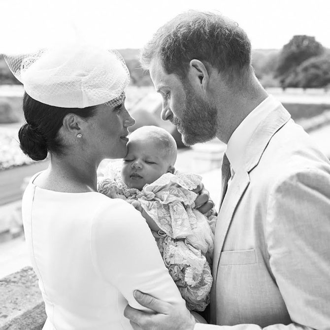 Меган Маркл впервые появилась на публике после рождения дочки и дала новое интервью - фото №1