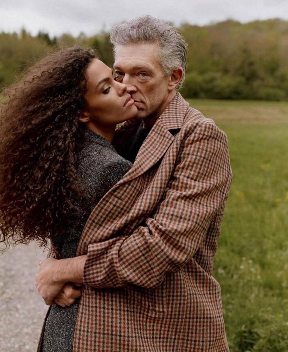 Чувственная пара: Венсан Кассель и Тина Кунаки стали главными героями рекламной кампании The Kooples (ФОТО) - фото №1