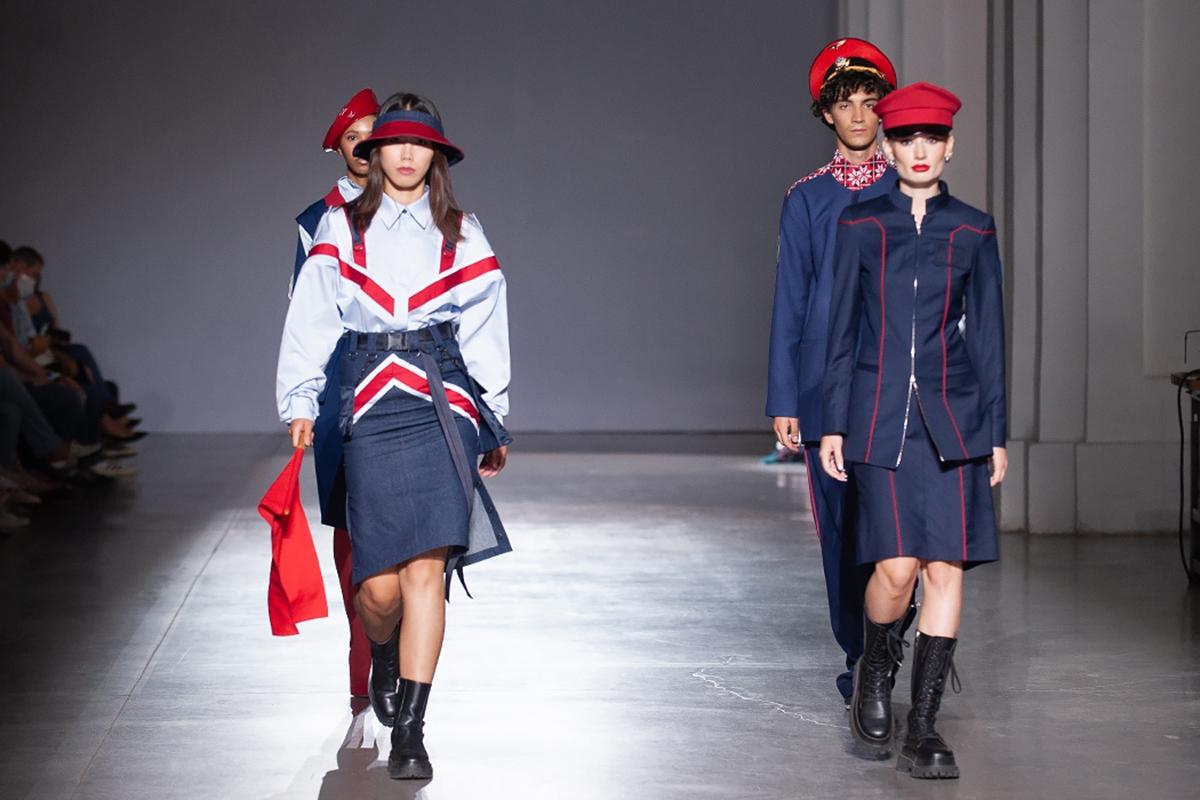 Третий день UFW NoSS 2021: муниципальная коллекция, викторианская мода и авангард (ФОТО) - фото №2
