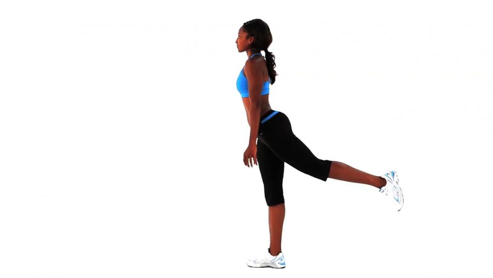 Упражнение для мышц бедер