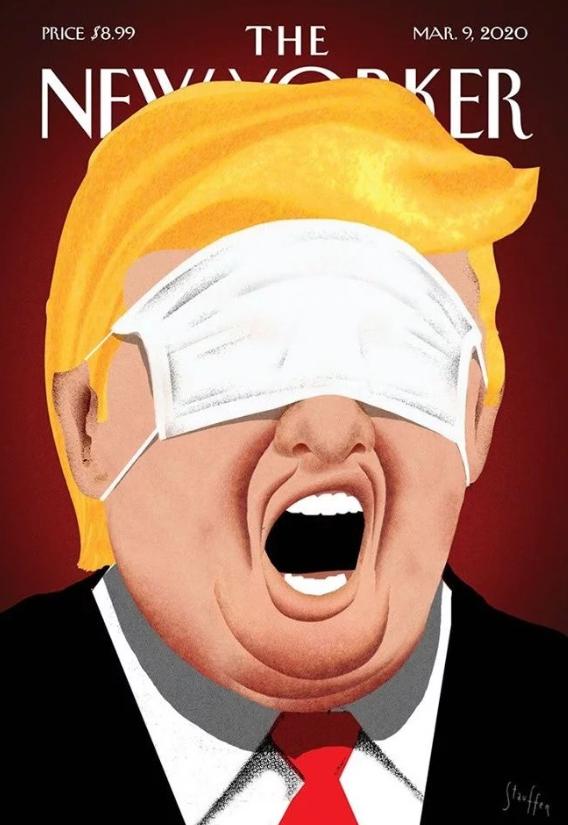 Обложку издания The New Yorker украсил коронавирус (ФОТО) - фото №2