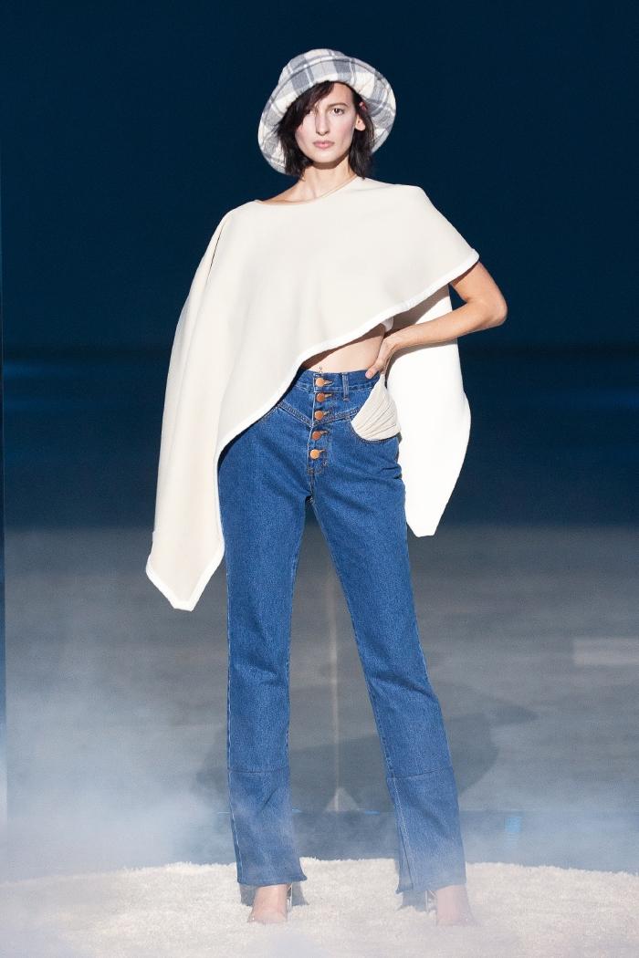 Элегантность, минимализм и звезды на подиуме: как прошел первый день Ukrainian Fashion Week noseason sept 2021 - фото №2