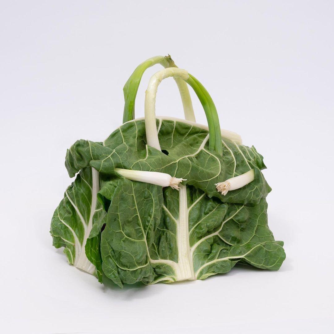 Hermès показали коллекцию съедобных сумок Birkin из овощей (ФОТО) - фото №3