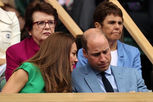 Кейт Миддлтон и принц Уильям побывали на финале Уимблдонского турнира - фото №3