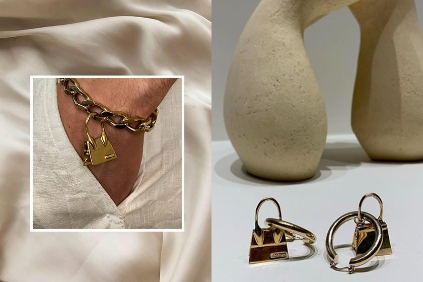 Фанатизм или изюминка бренда: Jacquemus выпустили украшения в виде своей знаковой микросумки - фото №2