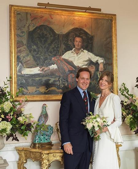 Самый завидный холостяк Великобритании герцог Роксбургский женился - фото №1