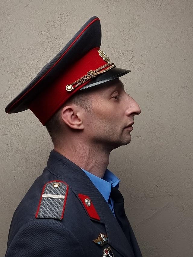 Милиционер Крупин