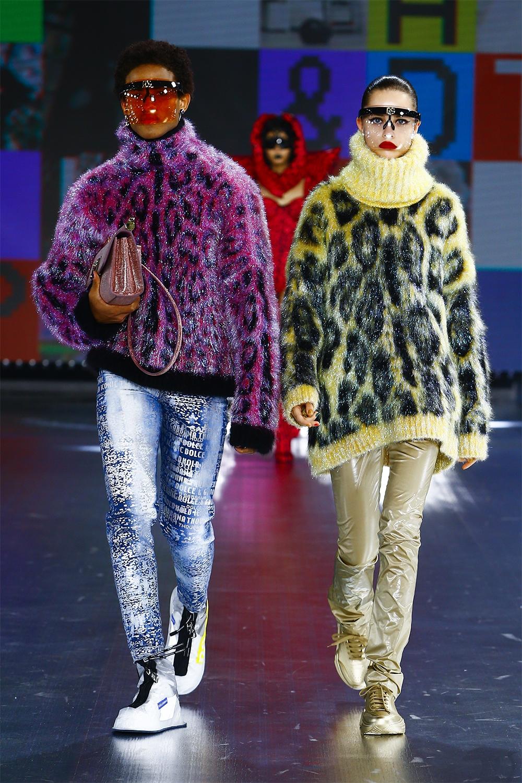 Роботы, поколение Z и киберкультура: Dolce&Gabbana представили новую коллекцию (ФОТО) - фото №4