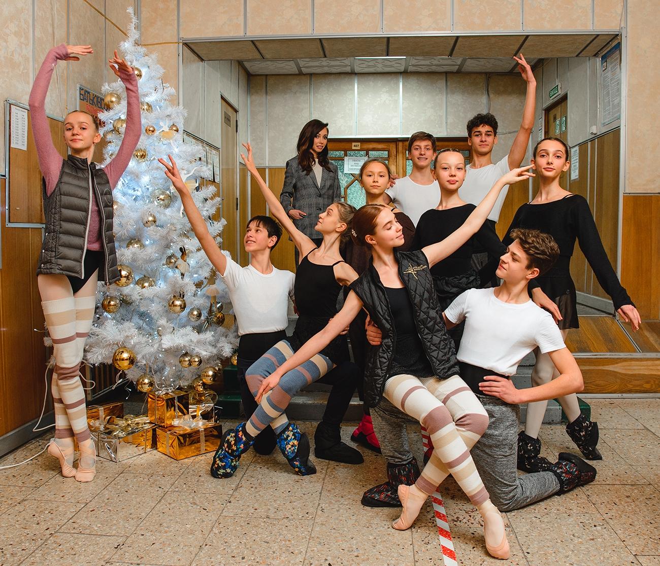 Екатерина Кухар показала первый этап ремонтав Киевском государственном хореографическом училище (ФОТО) - фото №4