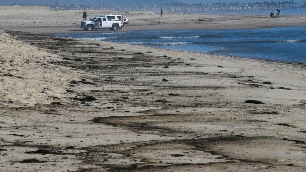 Экологическая катастрофа: в Калифорнии в океан попало более полумиллиона литров нефти (ФОТО) - фото №1